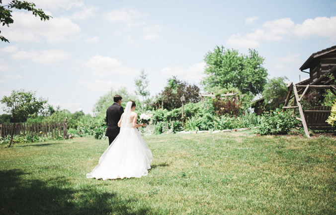 garden wedding photographer lincoln ne