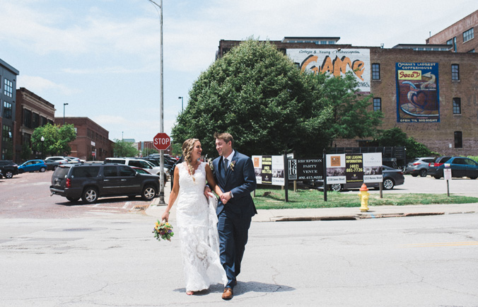 omaha nebraska modern wedding photography